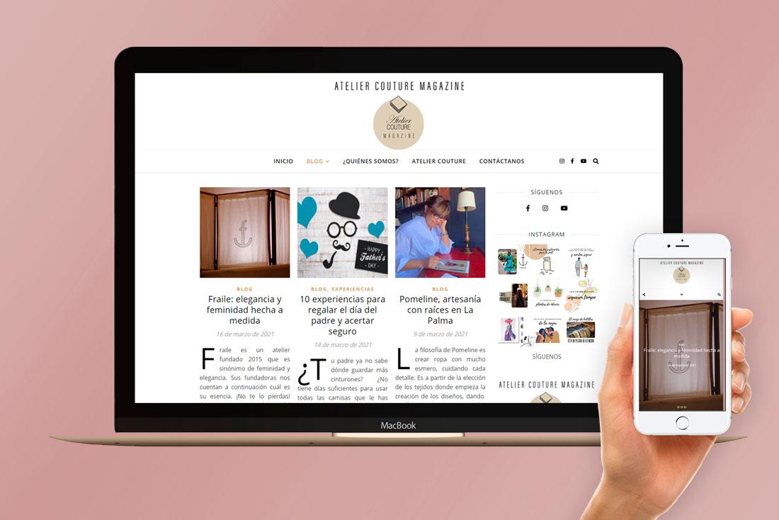 Web Atelier Couture Magazine